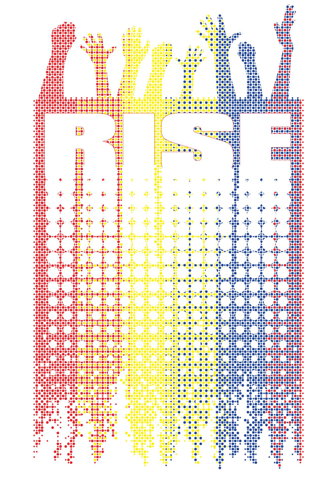 3 color print shirt design