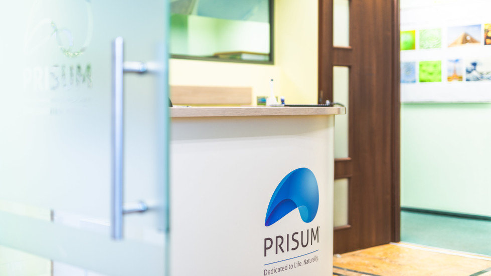 corporate branding prisum office