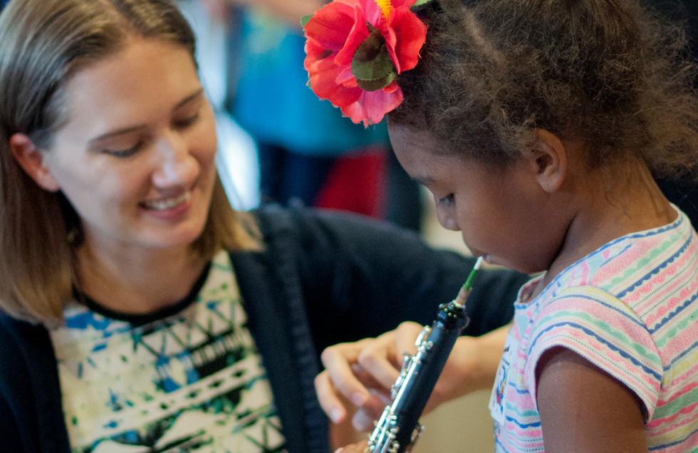 Lauren introduces the oboe