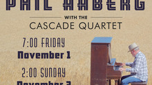 Cascade Quartet Opens Its Season with Guest Philip Aaberg