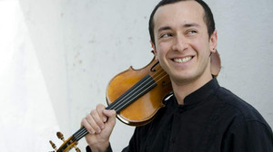 New violinist: Luis Angel Salazar
