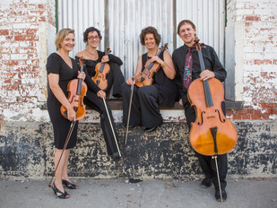 """Cascade Quartet Awarded CMA Grant to support """"Music is Healing"""" Residency in Great Falls"""