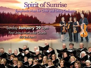Spirit of Sunrise: Cascade Quartet performs with Great Falls Symphonic Choir
