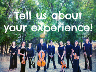 Audience Survey: Chamber Music Series
