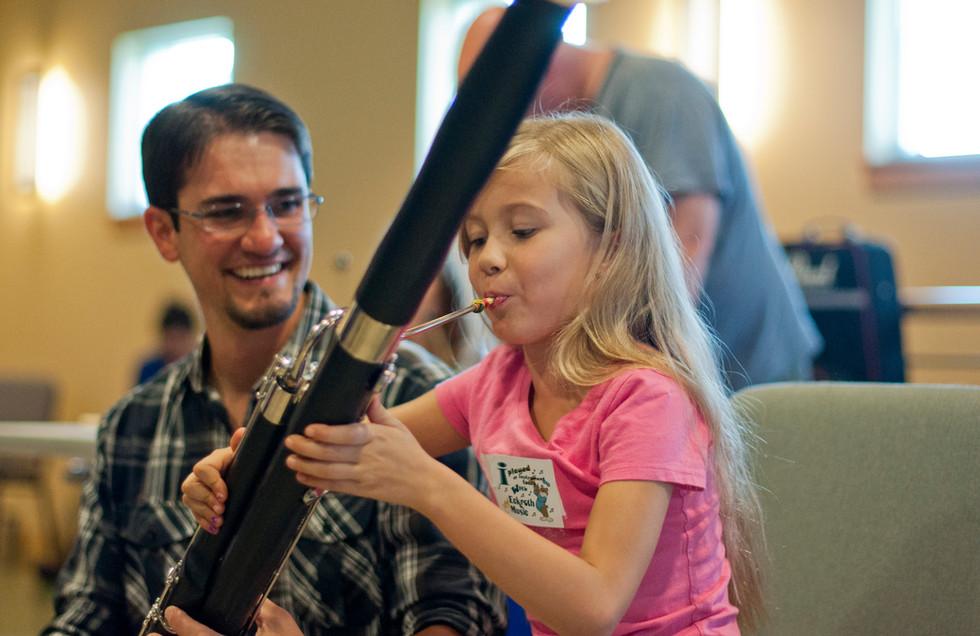 Dorian introducing the bassoon
