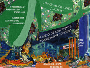 One Thousand and One Nights with the Chinook Winds and Guest Readers