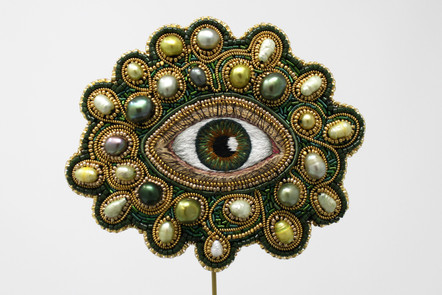Amulet Against Eye Contact (Green)