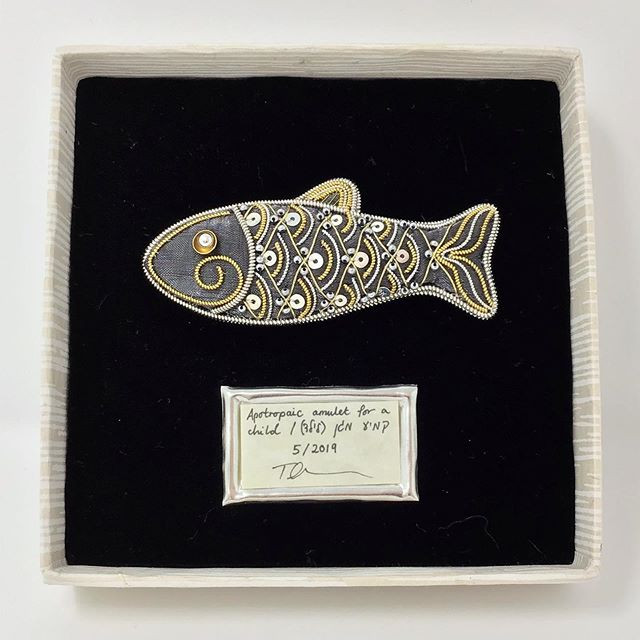 Fish Amulet, after a Traditional Jewish Type