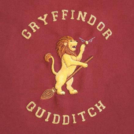 Gryffindor Quidditch team logo design an