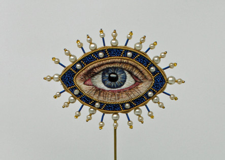 Amulet Against Eye Contact (Blue)