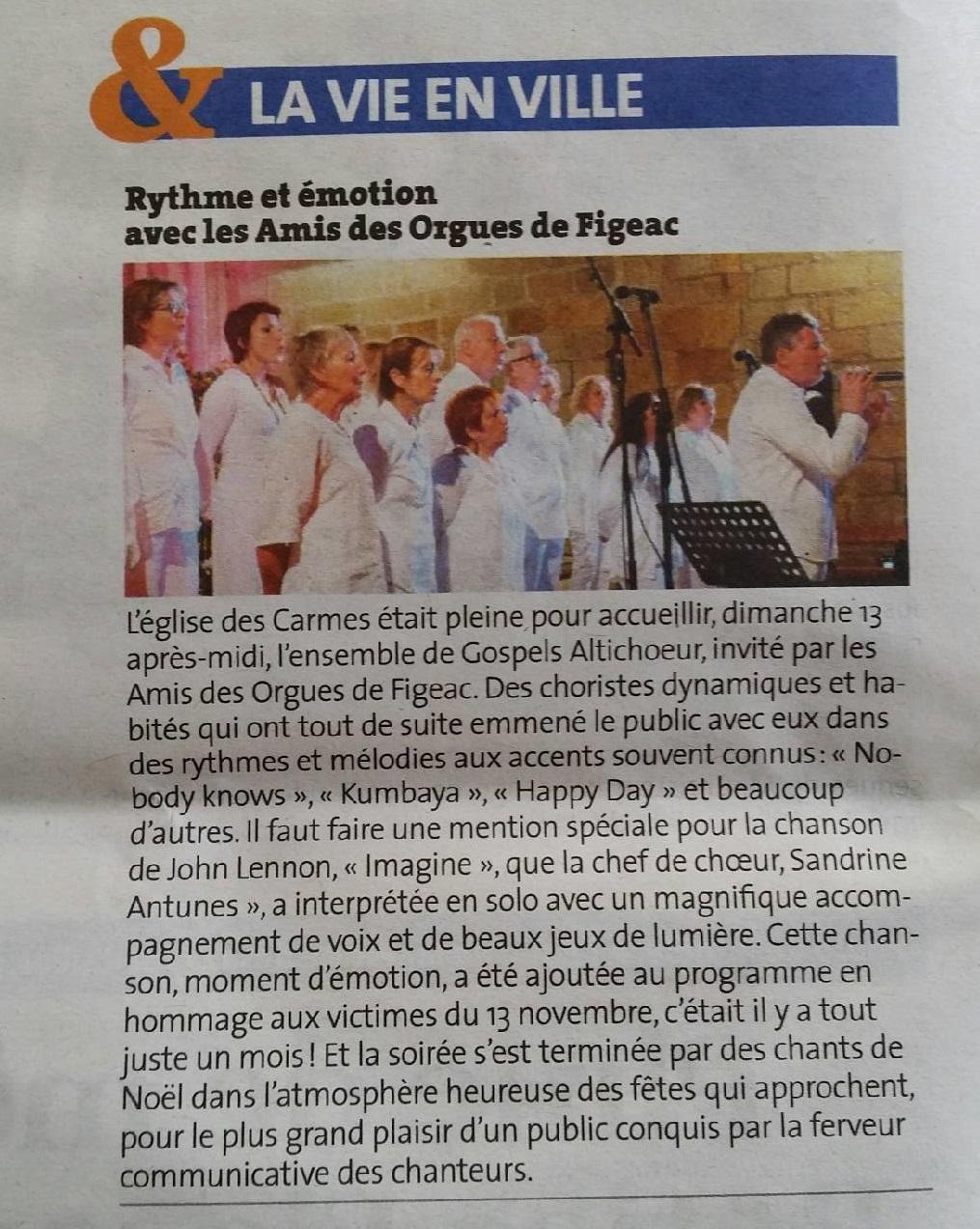 Figeac (46) - 13 décembre 2015