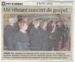 Puy d'arnac (19) - 23 février 2014