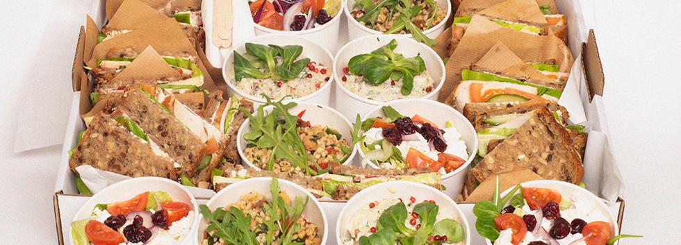 Salad & Snadwich BOX