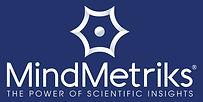 Logo MindMetriks Vertical Blue (Custom).