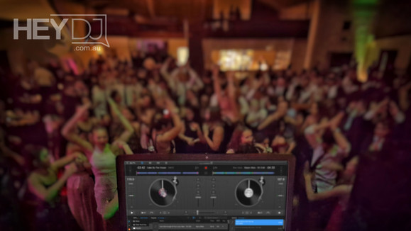 Hey DJ - School Formal - Dance floor - The Abbey, 2018