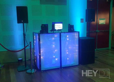 Hey DJ - Booth Setup - School Formal, 2021