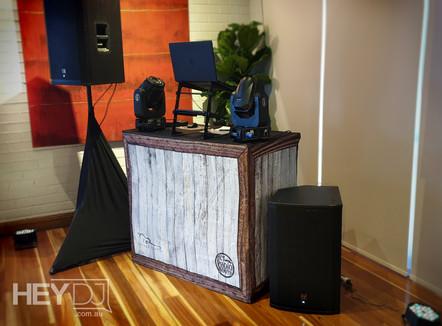 Hey DJ - Compact setup - Wedding - The Boathouse
