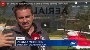 En Quito se está probando el primer 'drone delivery' en el país