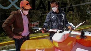 Ecuador estrena plan piloto para entregas con drones