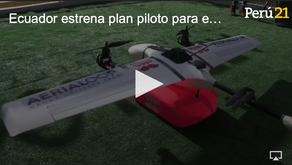 Empresa de drones y Rappi se unen para realizar entregas a domicilios en Ecuador