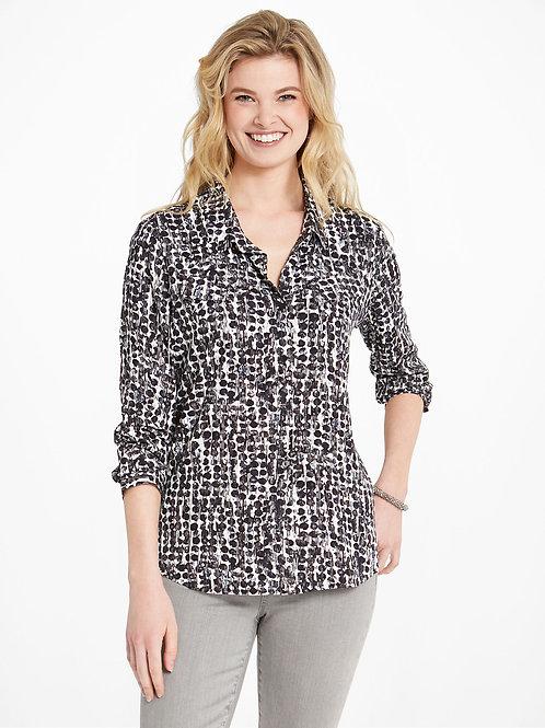 NIC+ZOE Rain Dots Shirt
