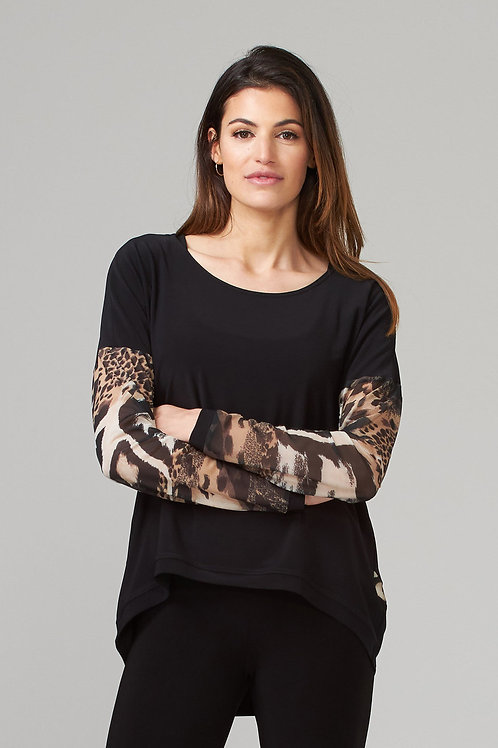 Joseph Ribkoff Jungle Print Shirt