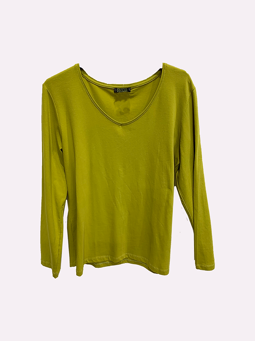 Dolcezza Lime Essential Jersey Knit 58503