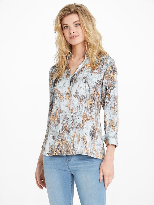 NIC+ZOE Globe Trotter Shirt