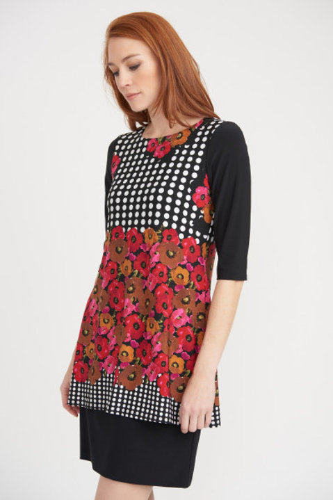 Joseph Ribkoff Pattern Block Dress