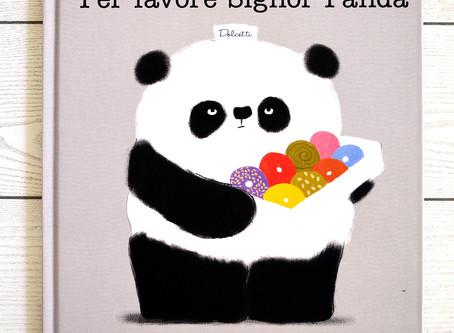 Un panda sul tavolino
