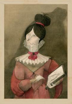 Female Portrait, M. Moya
