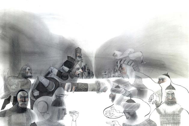 Knights by V. Ruffato
