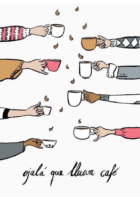 Coffee and Mugs by M. Moya