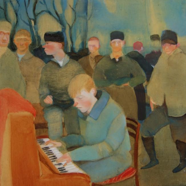 Playing the Piano, V. Ruffato