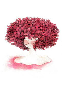 Autumn Lady by M. Moya