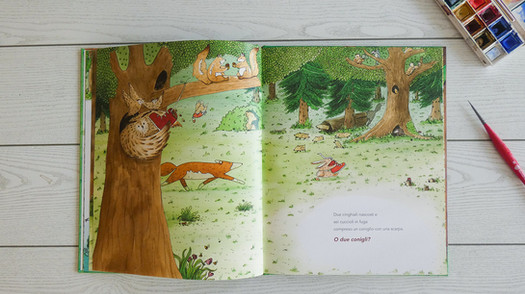 The Fox and the Shoes by M. Moya