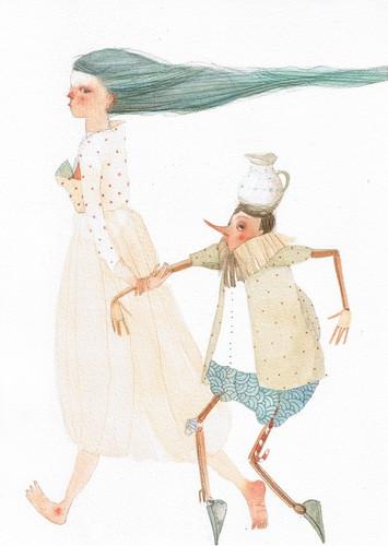 Pinocchio by V. Ruffato