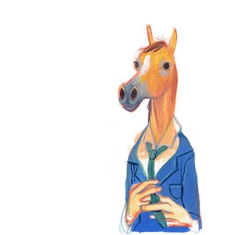 A man called Horse by V. Ruffato