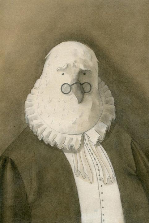 Male Portrait by M. Moya