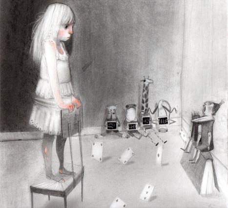 Alice in Wonderland Hook by V. Ruffato