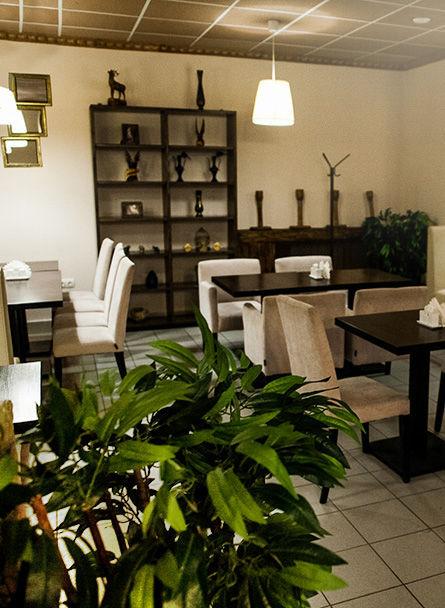 Малый зал кафе Ковчег