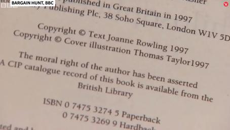 Harry Potter ve Felsefe Taşı'nın paha biçilmez ilk kopyası açık artırmada 28.000 pounda satıldı