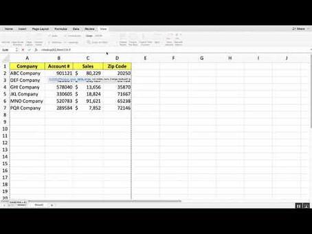 Microsoft Excel VLookup Function