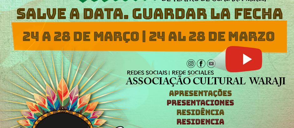 Festival acontece entre 24 e 28 de Março
