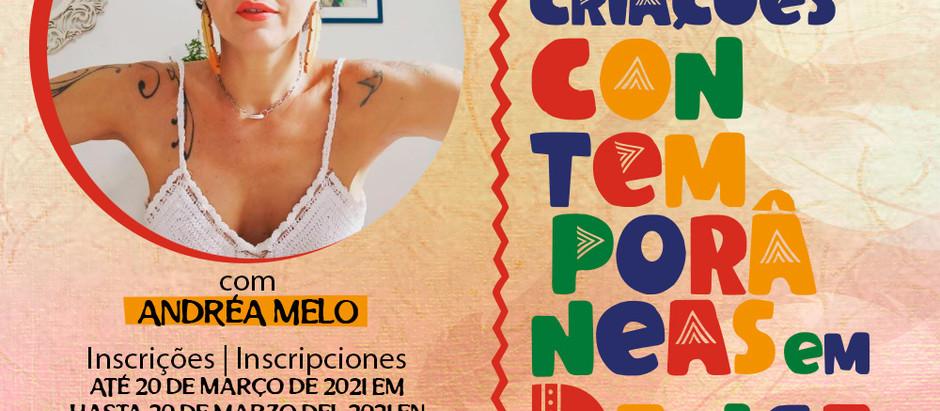 Laboratório Investigativo de Criação Contemporânea em Dança com Andréa Melo