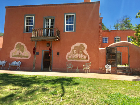 Exploring Acequia Madre and Upper Canyon Road