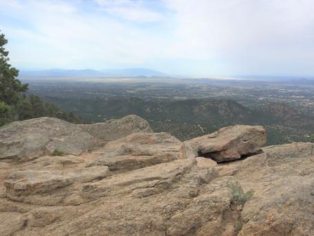 Hiking Atalaya Mountain