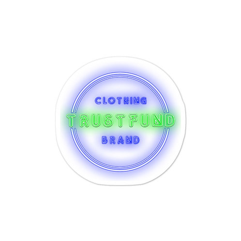 Neon TrustFund Bubble-free stickers