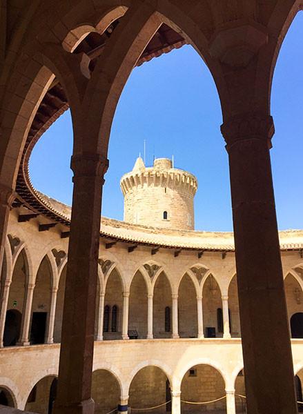 Old castle above Palma de Mallorca - Castell de Bellver