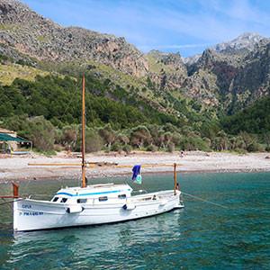 Llaut Mallorcan embarcation